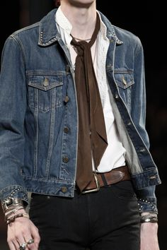 Saint Laurent, Menswear, Spring/Summer 2015