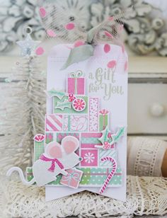 A Gift For You Tag by Melissa Phillips for Papertrey Ink (September 2016)