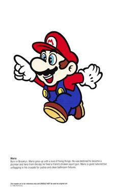 You knew Mario was a plumber. But did you know he was born and raised in Brooklyn?