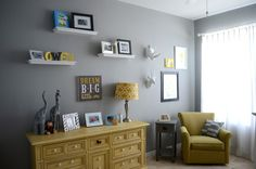 Project Nursery - Eclectic Wall Shot