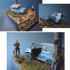 Very cool this Diorama!! PART2 By: udgin69 From: greenmats #scalemodel #plastimodelismo #miniatura #miniature #miniatur #hobby #diorama #humvee #scalemodelkit #plastickits #usinadoskits #udk #maqueta #maquette #modelismo #modelism