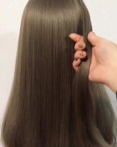 Cute Hairstyles For Medium Hair, Medium Hair Styles, Easy Hairstyles, Long Hair Styles, Beautiful Hairstyles, Wig Styling, Hair Upstyles, Indian Wedding Hairstyles, Long Hair Video