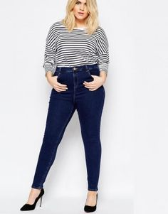 Skinny Jeans von Asos Curve, 39,99 €