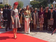King Philippe and Queen Mathilde visit Nagoya, Japan