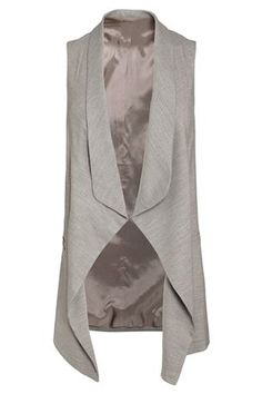 Buy Grey Sleeveless Jacket from the Next UK online shop