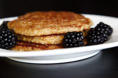This is Coconut-Lemon Paleo Pancakes. These are very delish! You get more tasty paleo recipes like this over here => http://www.paleoliving.info