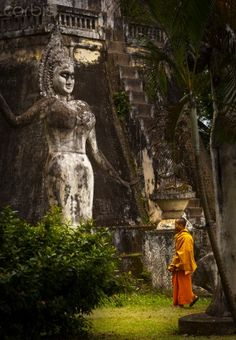 Buddha Park in Laos' capital city Vientiane, amazing place wish i had stayed there longer..