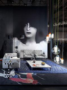 Moooi for Milan Design Week 2015   Dramatic portrait by Erwin Olaf.