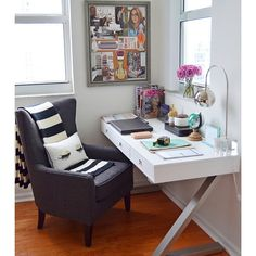 Step into my office! Today on MOD MAX GLAM, you can take a peek at my home office where I'm sharing my top 5 must-haves for a beautiful yet productive office space!  #styleathome