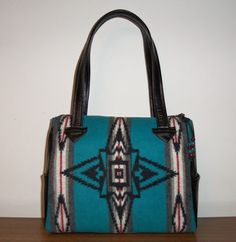 Pendleton Wool Purse Handbag Shoulder Bag Black by timberlineltd, $95.00