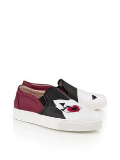Pin for Later: Cute Character Shoes That Toe the Kitsch Line Karl Lagerfeld K/Choupette Love Slip On Trainer Karl Lagerfeld K/Choupette Love Slip On Trainer (£98, originally £245)