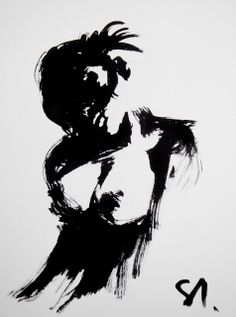 Ink nude by Daniel Santisteban