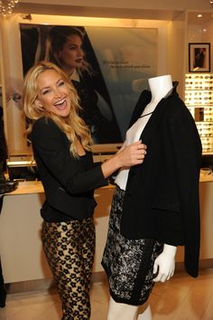 Shopping in NYC with Kate Hudson