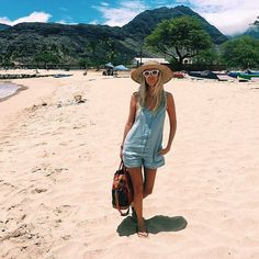 The is how you romper :sunny: @the_salty_blonde beachin' it in our Hannah romper. #gentlefawn #gfbabe #getthelook #style #fashion #beach #bloglove #sunshine #romper #summerstyle #thesaltyblonde