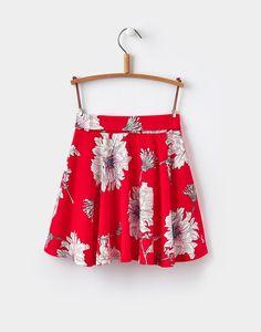 Jen Red Peony Print Skater Skirt 1-6yr    Joules UK Peony Print, Joules Uk, Red Peonies, Boho Shorts, Skater Skirt, Skirts, Women, Fashion, Moda
