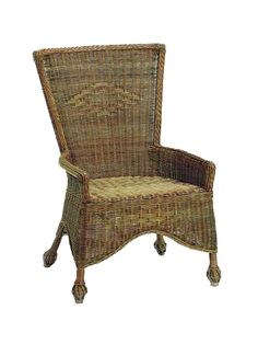 The Sonoma Wicker Side Chair Is Perfect For A Dining Table, Desk, Vanity,