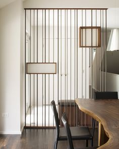 Bright room divider screens in Entry Modern with Rough Edge next to Wall Divider alongside Screen Wall and Dividing Wall