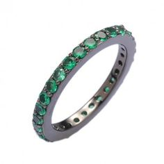 Sea green stacking ring from Hinna Azeem