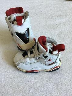 7e0bc42c985d baby infant nike air jordan shoes size 4C. Hurry wont last!