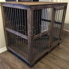 Finally there is a beautiful indoor dog kennel for great danes and other large dogs! Say goodbye to the ugly plastic dog crates and hello to the Great Dane Doggie Den! Dog Kennel Cover, Diy Dog Kennel, Dog Kennels, Cute Dog Costumes, Great Dane Puppy, Niches, Dog Rooms, Small Dog Breeds, Dog Houses