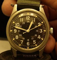 Vietnam Era Military Issue Benrus Watch by AliasSmithandJohnson, $180.00