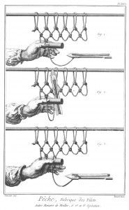 How To Tie A Fishing Net – Step-By-Step Image from the 1700′s   Prepping Ideas - Are You Prepared Enough?