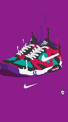 undefined Creative iPhone Wallpapers (38 Wallpapers) | Adorable Wallpapers  · Sneakers MulticolorSneaker ...
