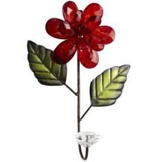 Pier One glass bead flower hooks:  going in Easter baskets this year