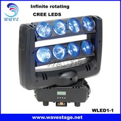 WLED 1-1 Infinite rotating spider 4-in-1 moving head led dmx led stage event disco wash bar light Email:sales02@wavestage.net https://www.facebook.com/wavelighting1 http://www.wavestage.net/