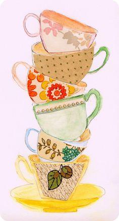 The Secret Teacup spellbinder die