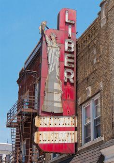 Liberty Electric Company in Bayonne NJ — Nice Ghost Sign