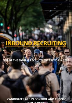 We do Inbound recruiting on social media. Recruiting using the power of social media