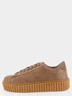 Online shopping for Faux Suede Gum Sole Sneakers TAUPE from a great selection of women's fashion clothing & more at MakeMeChic.COM.