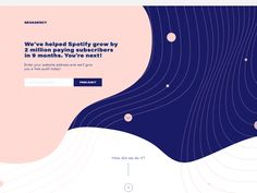 Great work from a designer in the Dribbble community; your best resource to discover and connect with designers worldwide. Website Design Layout, Web Layout, Website Design Inspiration, Graphic Design Inspiration, Layout Design, Design Agency Website, Website Designs, Web Design Quotes, Web Design Tips