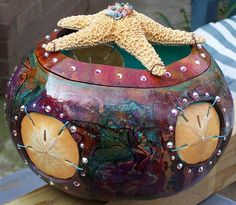 Gourd Art  Sea Portals by salart