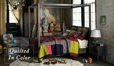 http://fashionpin1.blogspot.com - anthropologie #quilts #anthropologie
