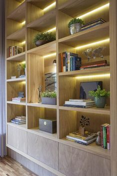 Home Office Design, Home Library Design, Office Interior Design, Easy Home Decor, Home Decor Crate, Living Room Partition Design, Living Room Remodel, Transitional Home Decor, Wall Showcase Design
