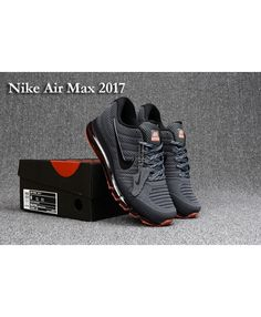 the best attitude d80c0 f5120 Nike Air Max 2017 KPU Carbon Grey Red Mens Trainers Grey Nike Trainers,  Sneakers Nike