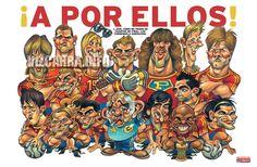 Caricaturas de futbolistas - Taringa!
