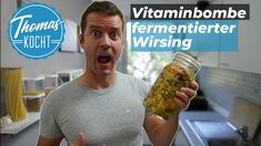 Achtung Vitaminbombe!! - Fermentierter Wirsing mit Ingwer und Kurkuma - YouTube Kimchi, Health And Nutrition, Guacamole, Sprouts, Mexican, Vegetables, Ethnic Recipes, Food, Youtube