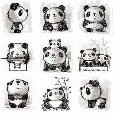 Naturally Young ': #Inspirando - Pandas