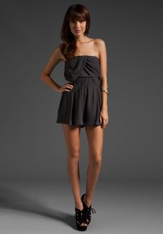 I loveee a cute romper in the summer! Over a bathing suit orrr without one :)