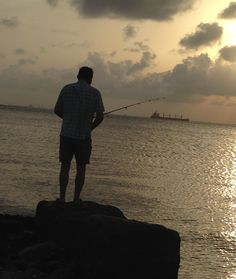 Fishing at sunset from Bolivar Peninsula while vacationing at Barefoot Escape Crystal Beach vacation rental.  For details go to http://www.beachbayvacationrentals.com/rentals/barefoot-escape/