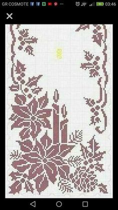 Best 12 – Page 493425702923443925 – SkillOfKing.Com - MommyGrid.com Crochet Table Runner Pattern, Crochet Tablecloth, Afghan Crochet Patterns, Embroidery Patterns, Crochet Cross, Filet Crochet, Crochet Motif, Diy Crochet, Xmas Cross Stitch