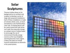 Solar Energy powered artwork