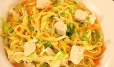 Homemade Recipes Made Easy and Delicious Recipe Tv, Chicken Chunks, Pancit, Batangas, Egg Noodles, White Meat, Filipino Recipes, Consistency, Food Preparation