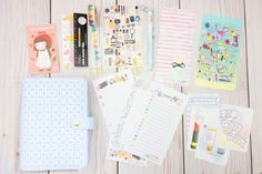 Happiness is Scrappy: Planner Setup using August Happie Scrappie Planner Kit