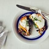 Open-Face Avocado and Goat Cheese Sandwiches Recipe   SAVEUR