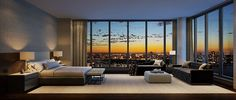 Luxury Waterfront Condominium With Expansive Views of NYC Skyline: One Riverside Park