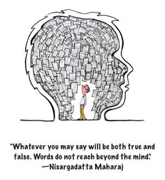 Whatever you may say will be both true and false. Words do not...   Sri Nisargadatta Maharaj Picture Quotes   Quoteswave